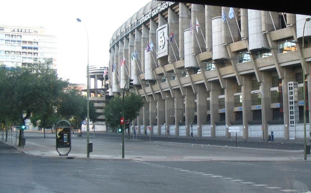 I miei viaggi 2 for Puerta 53 bernabeu