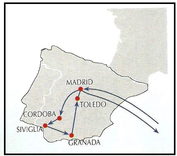 Cartina Spagna Toledo.I Miei Viaggi 2